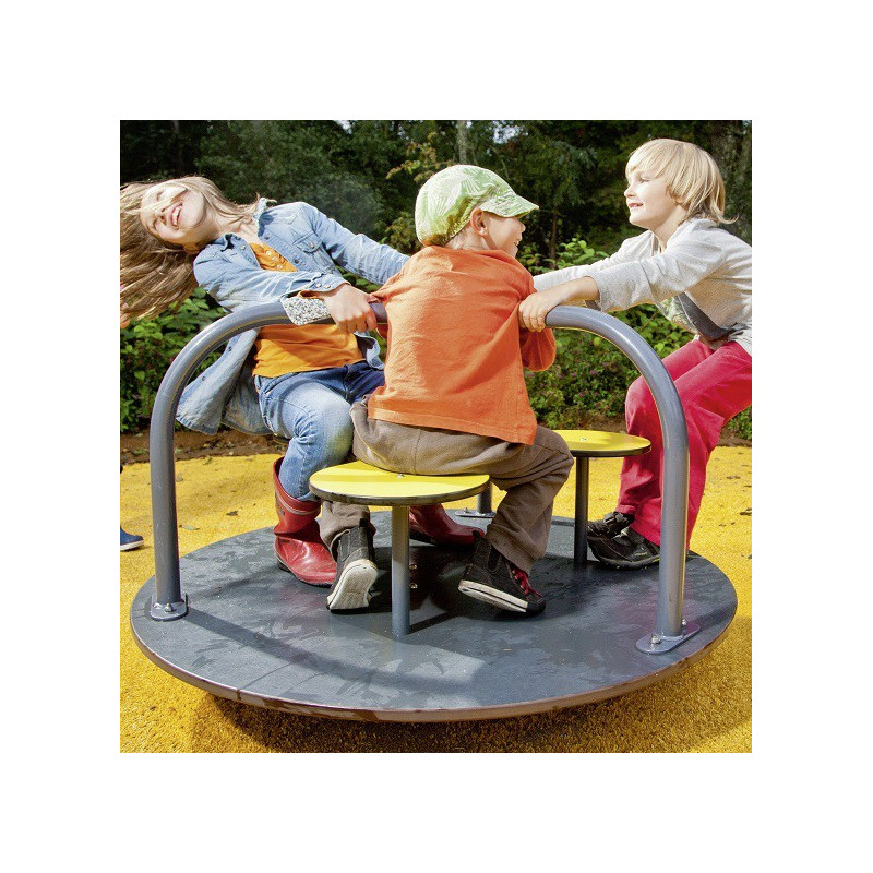 Spielplatz-Karussell