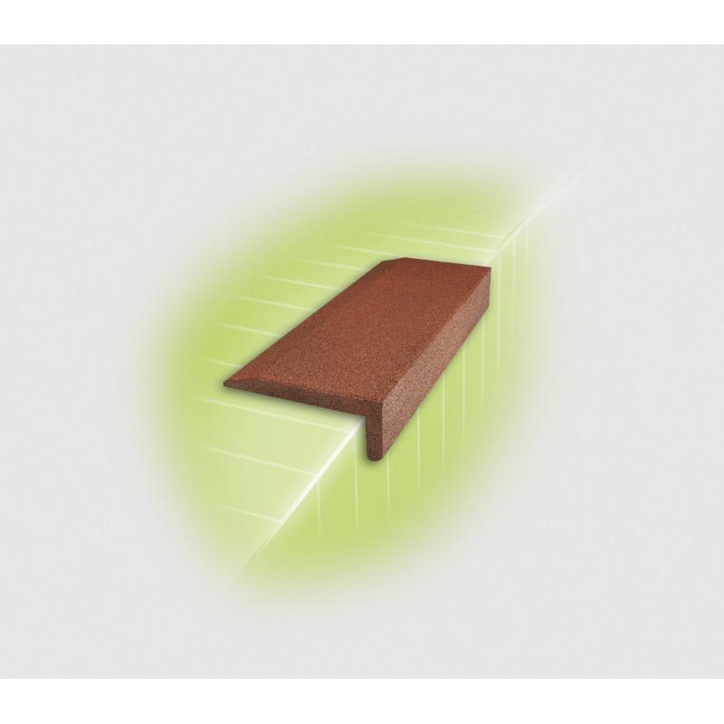 Couverture cornière / Protège-arêtes en caoutchouc