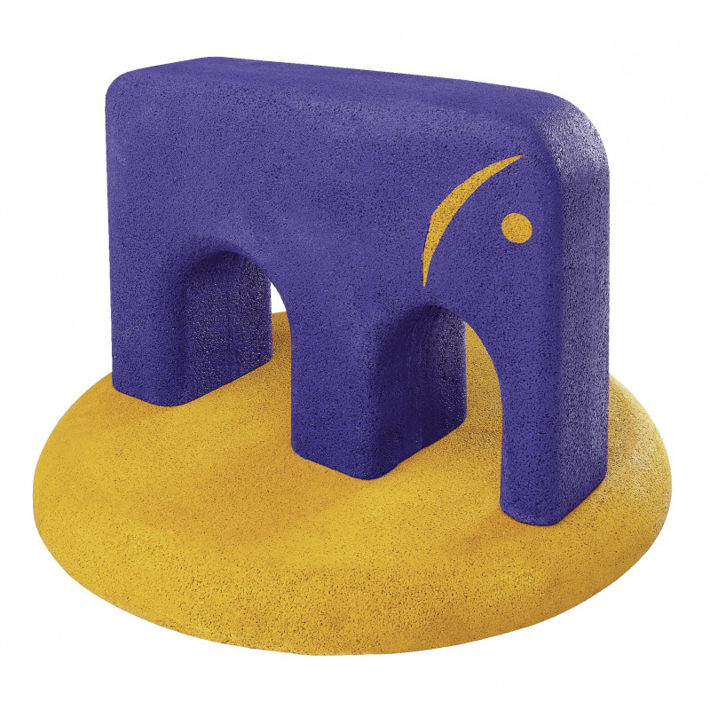 Bodenplatte zu Tiere aus Gummigranulat