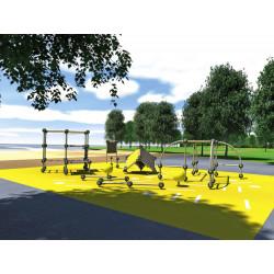Parkour Park S - Outdoor Trainingsanlage