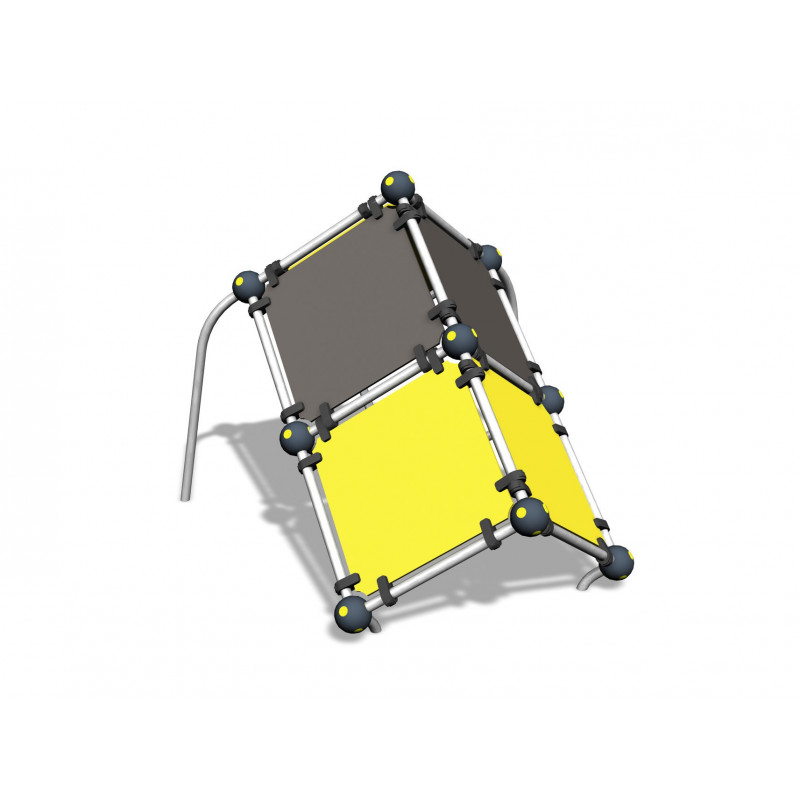 Tic-Tac Cube L - Sprung-Trainer
