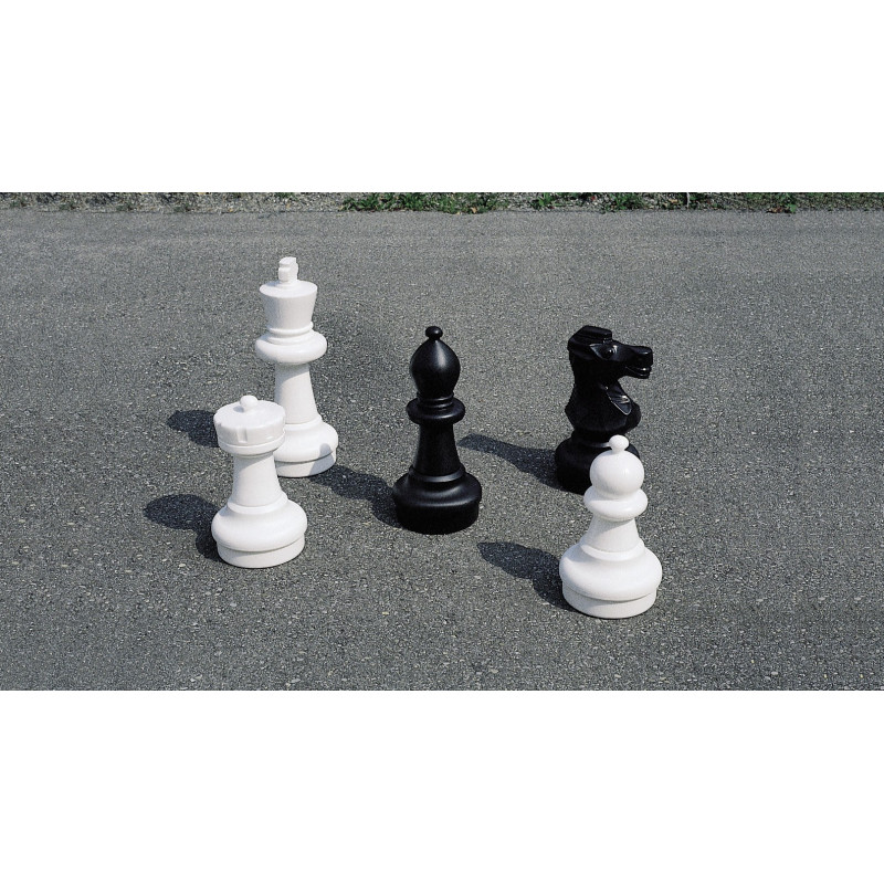 Figures de jeu d'échecs petit jardin