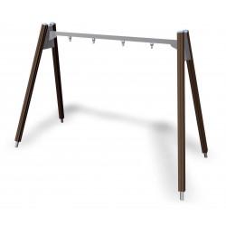 2er-Bockschaukel Holz
