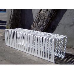 out-sider Zebra- Metall-Hockerbank