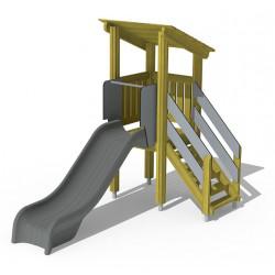 Budgetino-Combi / Podest 90 - Turm mit Rutsche