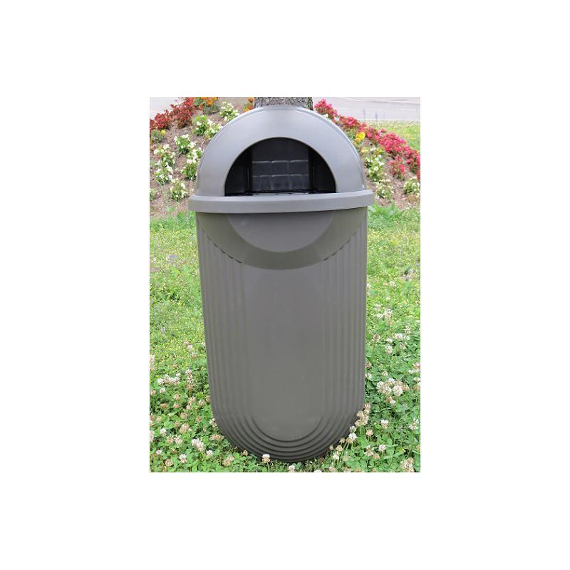 Street - Kunststoff-Abfallkübel