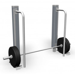 Deadlift 65 kg - appareil de fitness outdoor