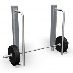 Deadlift 65 kg - Outdoor Fitnessgerät