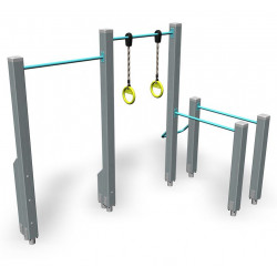Dip'n Fly - engin de fitness outdoor