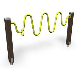 Wave Bar- enginde fitness outdoor pour séniors