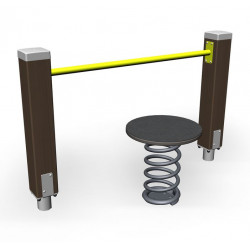 Hip Spring- engin de fitness outdoor pour séniors
