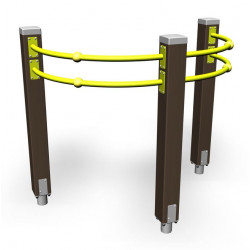 Shoulder Arches - engin de fitness outdoor pour séniors