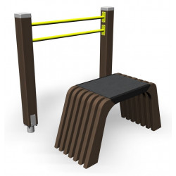 Sit and Up - engin de fitness outdoor pour séniors