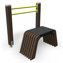 Sit and Up - Senioren-Outdoor-Fitnessgerät