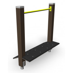 Step and Calf - engin de fitness outdoor pour séniors