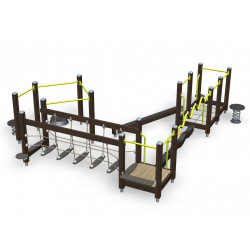 Vital Combi 84 - Senioren-Outdoor-Fitness-Parcour