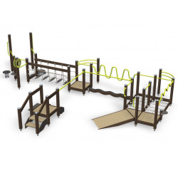 Vital Combi 91 - parcours de fitness outdoor pour séniors