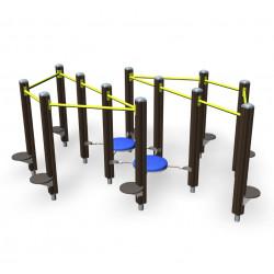 Step Parcours - parcours de fitness outdoor pour personne âgée