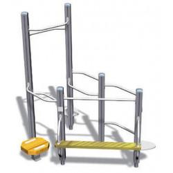 Vital Combi 81- appareil de fitness outdoor pour personne âgée