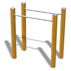 Parallel Bars - Senioren-Outdoor-Fitnessgerät