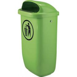 Tip Top Grün - Plastik-Abfallbehälter