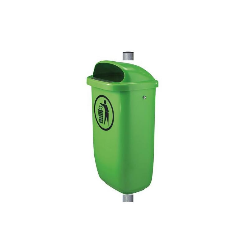 Tip Top - Kunststoff-Abfallbehälter mit Pfosten