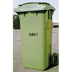 Container à 2 roulettes - 240