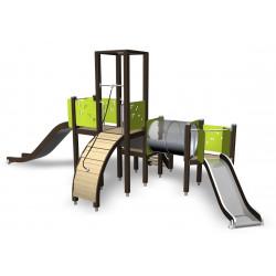 Spielanlage Annabelle - Kletterturm mit Rutsche