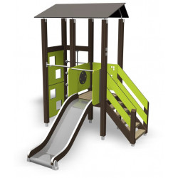 Spielanlage Adele - Turm mit Rutsche