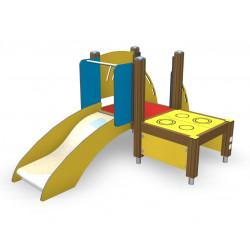 Anton - Spielplatzgerät für kleine Kinder mit Rutsche