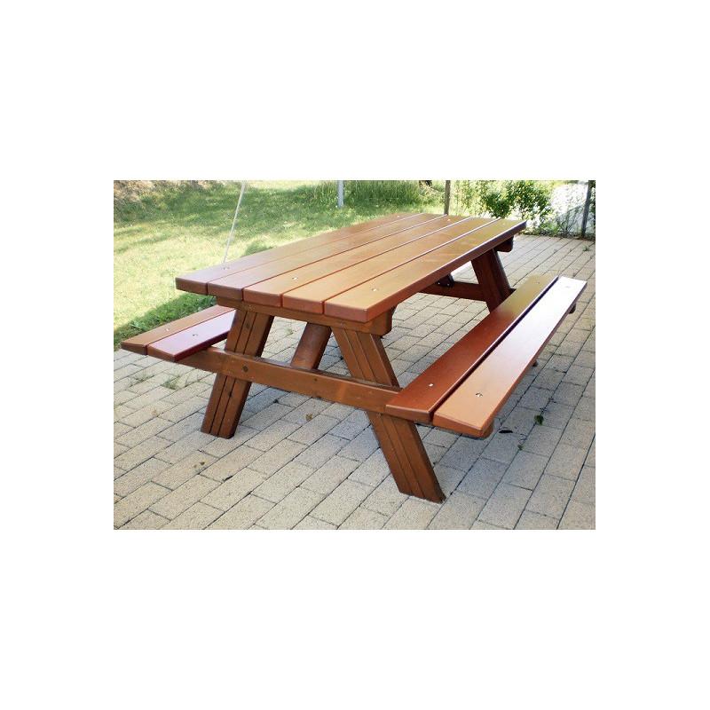 Picknick Holz - Bank / Tisch-Kombination