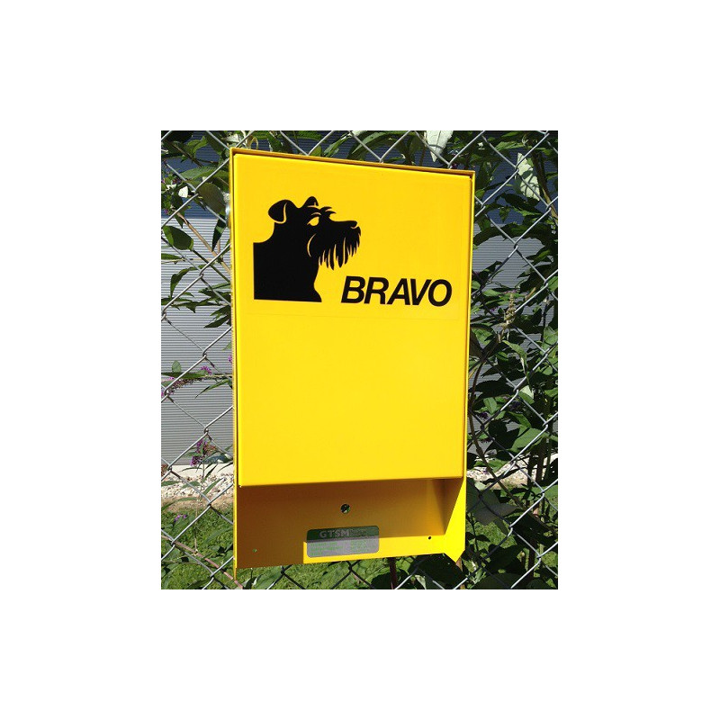 BRAVO Set - Hundekotbeutel-Dispenser