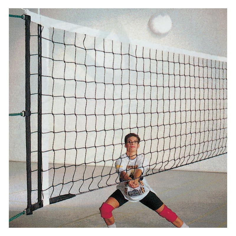 Poteaux pour filet de volley-ball