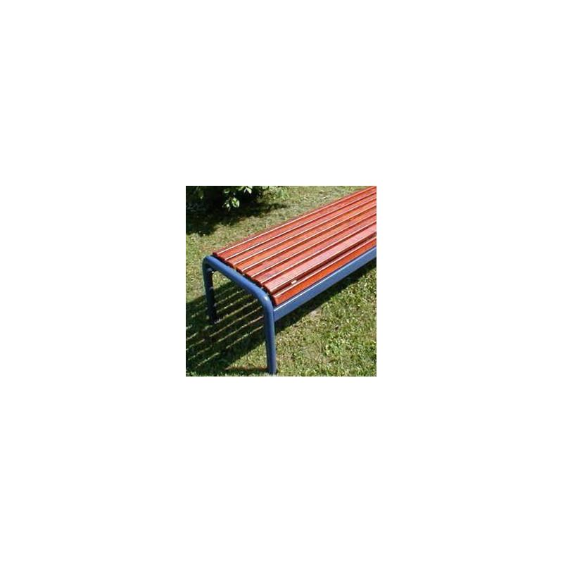 Jung 15-2 Sitzbank mit Holzbelattung