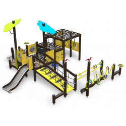 Inclusive Play M - behindertengerechte Spielanlage