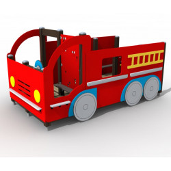 Le camion de pompier