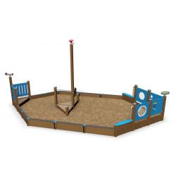 Sandspiel Schiff - Sandkasten