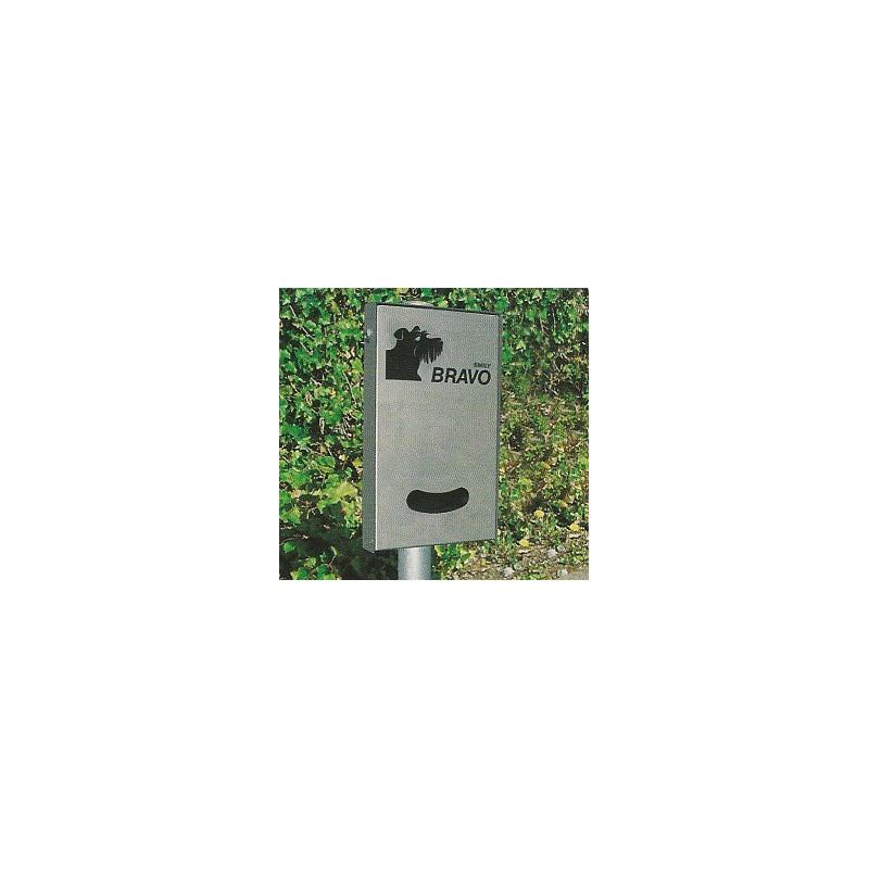 BRAVO Smily Inox - Dispenser für Hundekotbeutel