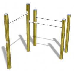 Combination Rack - Kombinationsreck/ Reck/ Reckstangen