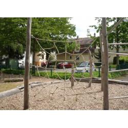 Spinnennetz Klettergerät