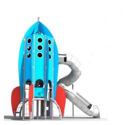 Rocket - Kletterturm mit Rutschbahn