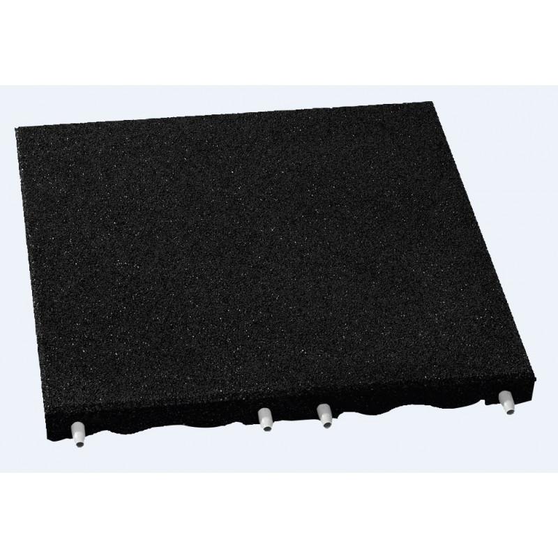 Plaques de protection de chutes - 7 cm/ noir