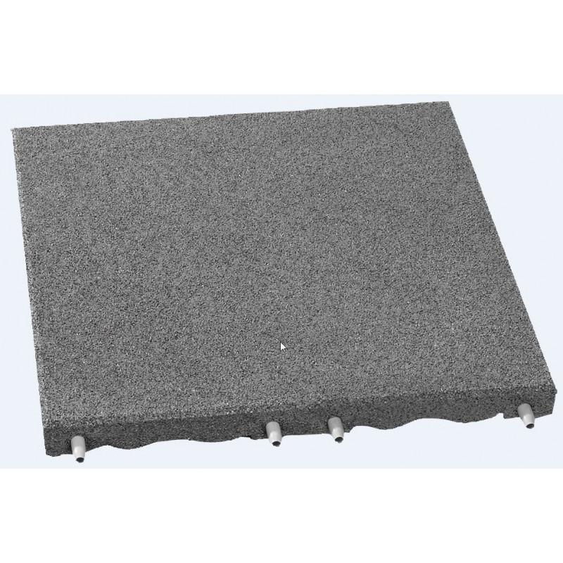 Plaques de protection de chutes - 7 cm/ gris