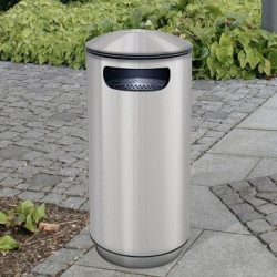 City 90 Inox Ascher - Abfallbehälter