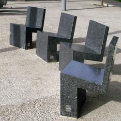 Nigra - chaise en béton