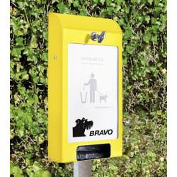 BRAVO Set Economy Publi - Distributeur de sachets pour crottes de chien