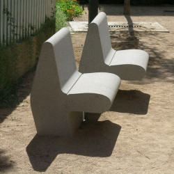 Nas - chaise en béton