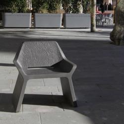 Kelly - chaise en béton