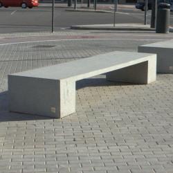 Abril - Sitzbank aus Beton