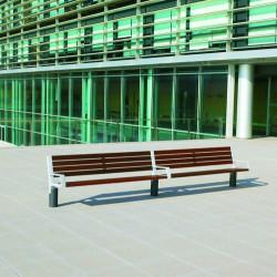 Escofet Tats - Sitzbank aus Holz/ Metall